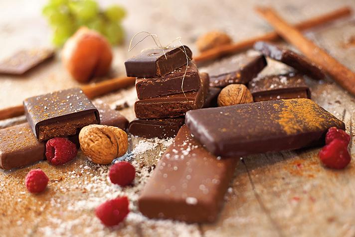 gefüllte Schokoladen