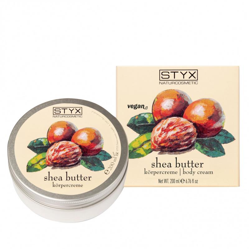 Shea Butter Körpercreme 200 ml Ecocert nat.