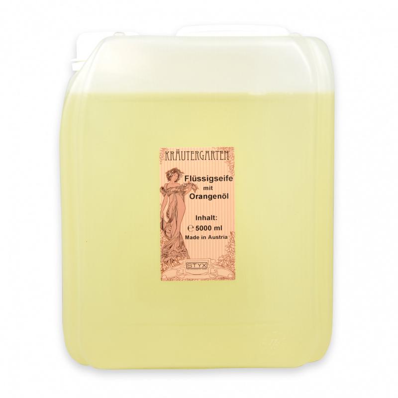 Flüssigseife mit Orangenöl 5000ml
