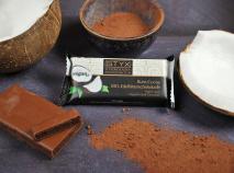 BIO-Edelbitterschokolade gefüllt mit Rum-Cocos-Ganache 70g VEGAN