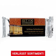 Schloss Schönbrunn (BIO-Milchschokolade gefüllt mit 70% Nougat-Ganache) 70 g