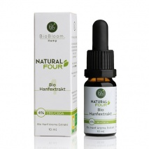Bio CBD Hanfextrakt 4% NaturalFOUR 10ml