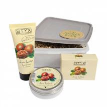 Shea Butter Set in Zuckerrohrbox