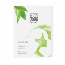 Sachetfolder green tea tages- und nachtcreme