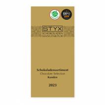 Folder STYX Schokoladensortiment